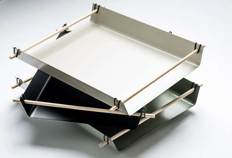 Bent Metal Trays