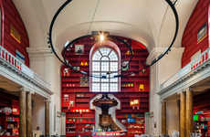 Neoclassical Crimson Chapels - The Stedelijk Museum Schiedam Has Been Outfitted with a New Entrance