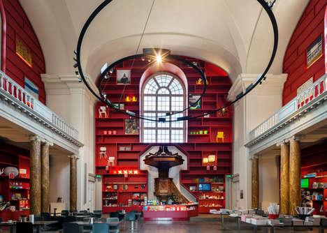 Neoclassical Crimson Chapels
