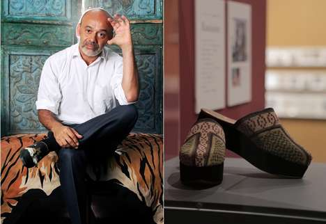 Retrospective Luxury Slippers - These Christian Louboutin Slippers Mimic Traditional Japanese Shoes