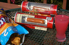 DIY Chip Container Grills - Cats Science Club Created a Hot Dog Cooker Out of an Empty Pringles Can