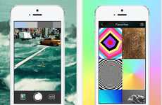 Color-Filtered GIF Apps - The to.be GIF Camera App Creates Moving Images Out of One's Mobile Photos