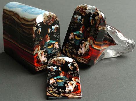 Glass Iconography Trinkets