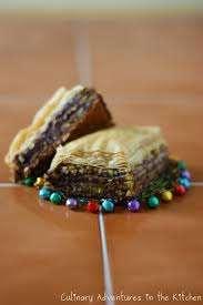 Grecian Chocolate Pasteries