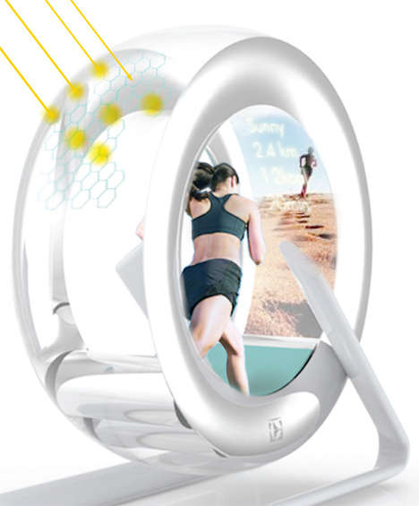 Human Hamster Wheels - Wheel by Si Hyeong Ryu Boasts a Built-In Washing Machine