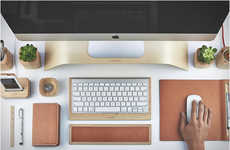 Ergonomic Desk Accessories - Grovemade Unveiled Its New Collection of Desktop Accessories