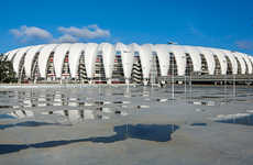 Distinct Steel Trust Stadiums - The Beira-Rio Stadium Receives a Revamp by Hype Studio