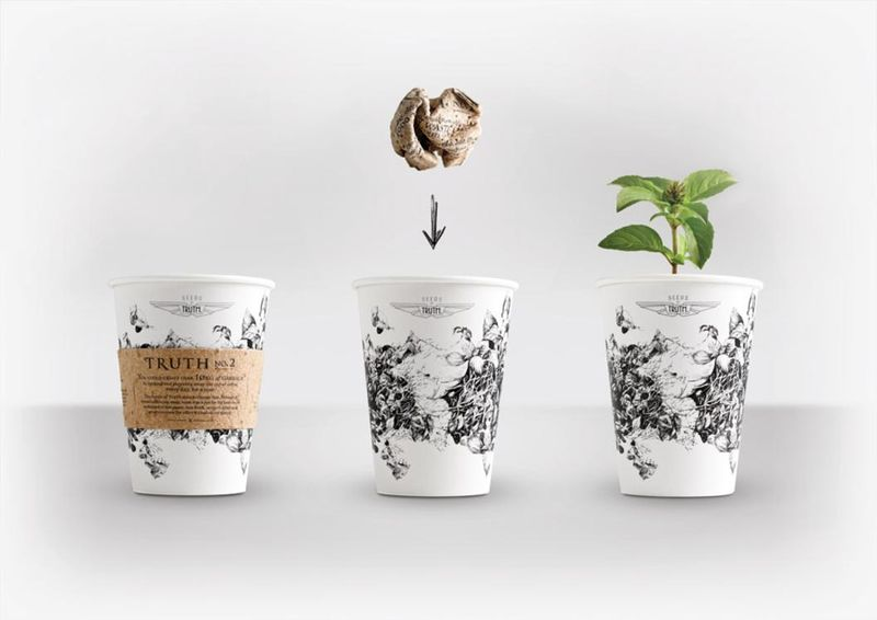 Plantable Coffee Cups