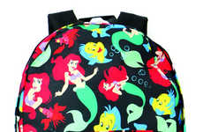 Disney Siren Carryalls - Shop Jeen's The Little Mermaid Backpack is a Nostalgic Blast from the Past