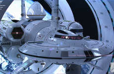 Futuristic Starship Designs