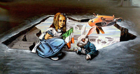 Provocative 3D Paintings