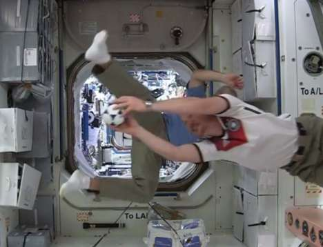 Space Station Soccer Matches