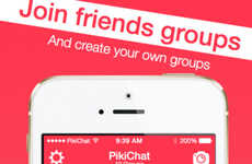 Group Photo-Sharing Apps - Pikichat is a Fun Photo Sharing App for Chatting and Drawing with Others