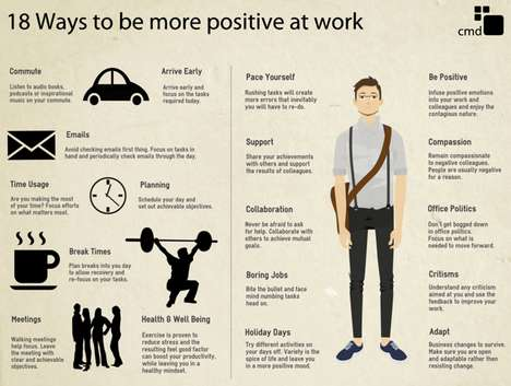 Workplace Positivity Infographics