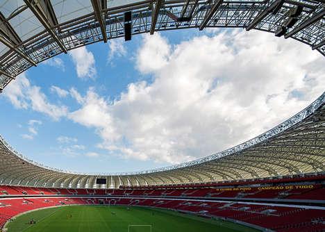 Soccer Stadium Photography