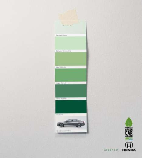Witty Green Car Ads