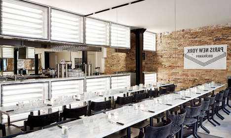 This Urban Restaurant Design is Both Sleek and Charming