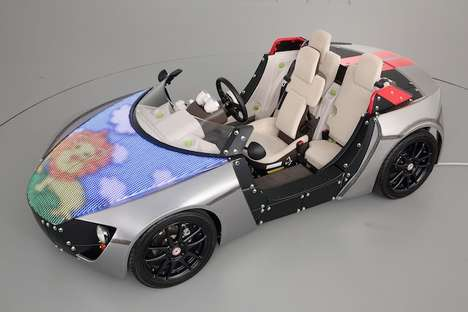 Customizable Child Cars - The Toyota Camatte Lab at the Tokyo Toy Show 2014 Showed Off Interactivity