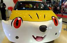 Anime Monster Autos - Toyota's 2014 Tokyo Toy Show Cars Take the Shape of Pikachu and Fennekin
