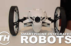 Smartphone-Integrated Robots