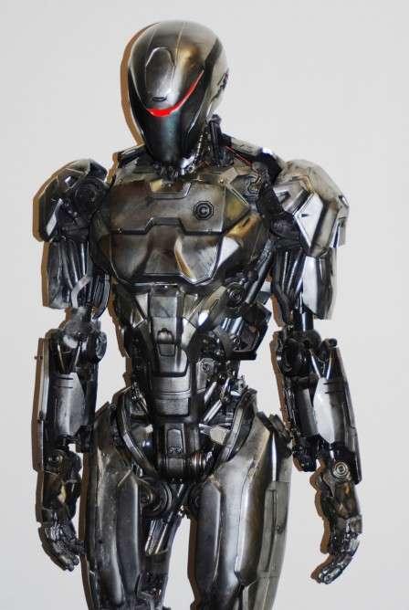 Robotic 3D-Printed Suits