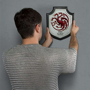 Fantasy Wall Plaques - These Game of Thrones Family House Plaques Celebrate the Hit TV Show