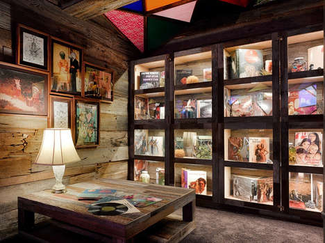 Hippie Homage Hotel Rooms - This Charming Boutique Hotel Hosts a Bohemian Sculptural Installation