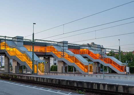 Vividly Translucent Stairways