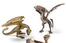 Fantasy Dragon Figurines