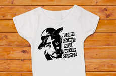 Rapper Baby Apparel - Your Baby Can Gain Some Street-Cred with These Tupac Shakur Baby Onesies