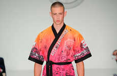 Flamboyant Fighter Fashions - The Astrid Andersen Spring/Summer 2015 Line Embodies Urban Opulence