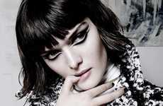 Luxuriously Mod Editorials - Sam Rollinson Stars in the Vogue China Issue