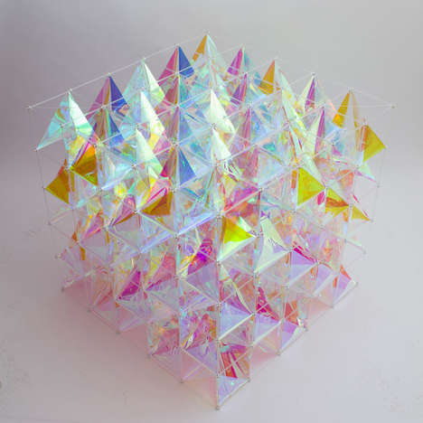 Colorful Cube Kites