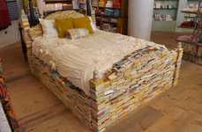 Imaginative Book Bedframes