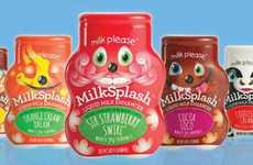 Kid-Friendly Milk Flavoring - Milksplash Makes the Healthy Drink More Delicious for Growing Kids