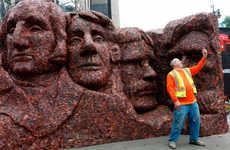 Presidential Beef Sculptures