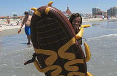 Cockroach Pool Floats - This Giant Cockroach Pool Flotation Device is Slightly Bizarre