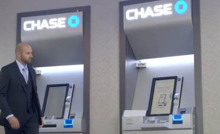 Palm Print-Scanning ATMs : chase bank
