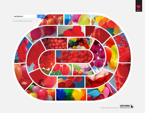 Unsafe Image Maze Ads