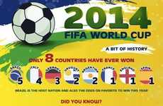 Financial Football Facts - These Historical World Cup Facts Examine the Cost of Watching the Games