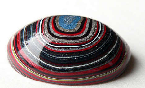 Sculpted Fordite Stones