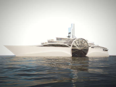 Modern Paddle Steamer Yachts
