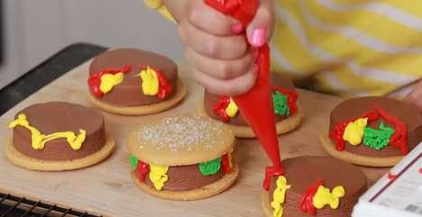 Ice Cream Burgers