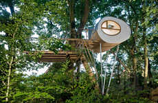 Pod-Constructed Treehouses