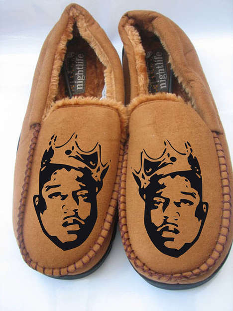 Rap Icon Slippers