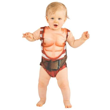 Baby Bodybuilding Rompers