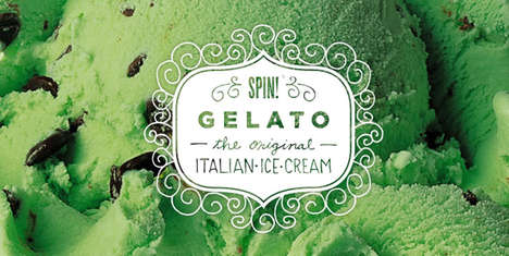 Picturesque Ice Cream Branding