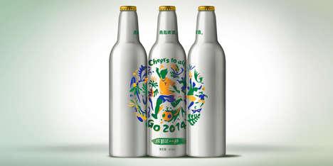 Celebratory Sports Beer Bottles