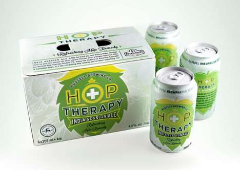 Therapeutic Beer Branding