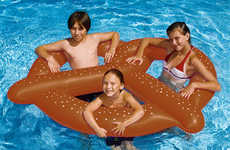 Bakery-Inspired Pool Toys